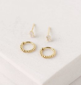 Mia Duet Ear Stack - Gold