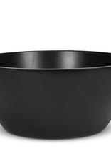 """Large Matte Black Deep Bowl D13.75"""""""