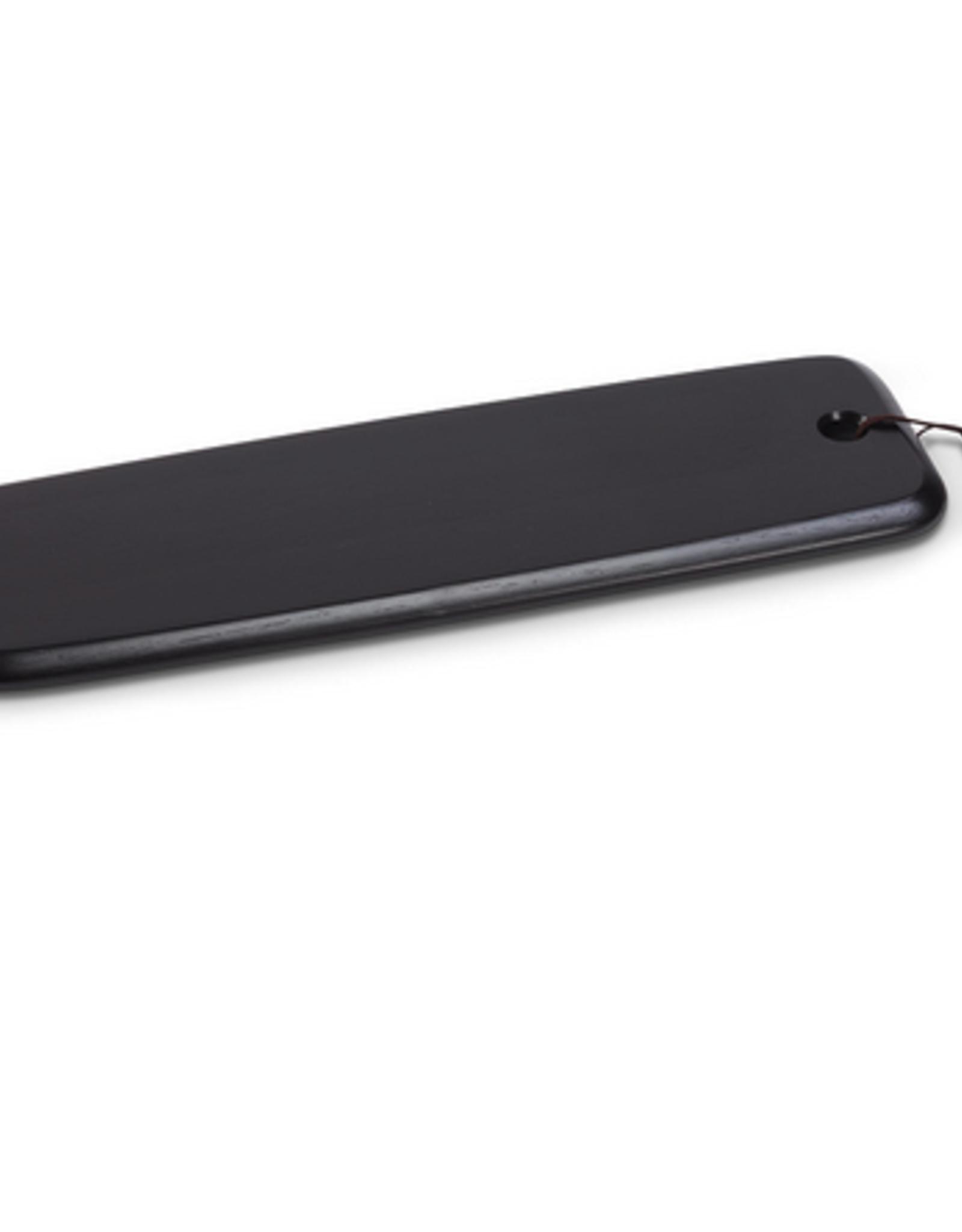 "Large Matte Black Slim Board with Strap W6.5"" L26"""