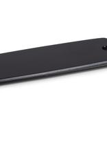 "Medium Matte Black Slim Board with Strap W6"" L18"""