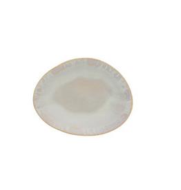 """Brisa Salt Oval Bread Plate L6"""" W4.5"""""""