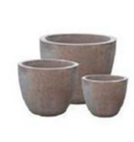 "Medium Terracotta Pot D11.4"" H9.5"""