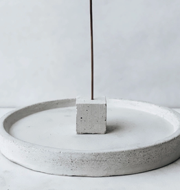 Incense Tray with  Cube Incense Stick Holder