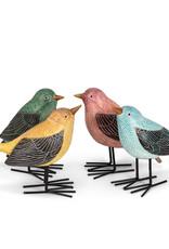Colourful Folk Birds