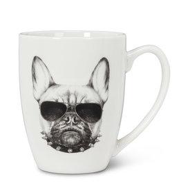 """Pen & Ink Bulldog Mug H4"""""""