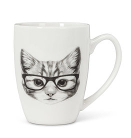 "Pen & Ink Cat Mug H4"""