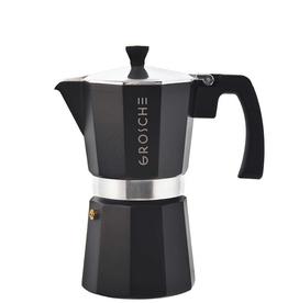Charcoal Milano Stovetop Espresso Coffee Maker 6 cup