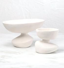 "Large Ducoli Organic Bowl L15"" W10"" H8.75"""