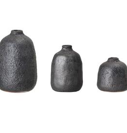 """Large Metallic Matte Finish Vase 6""""H"""