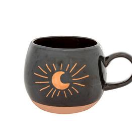 "Crescent Moon Mug H5.75"""