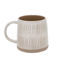 """Sandstone Mug - Short Lines H4"""""""