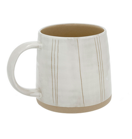 """Sandstone Mug - Long Lines H3.75"""""""