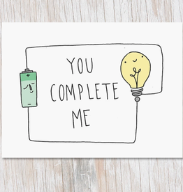 Electrical Circuit: You Complete Me Card