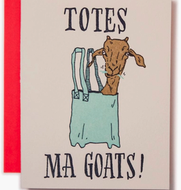 Totes Ma Goats Card