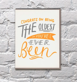 Congrats on Being the Oldest Ever Card