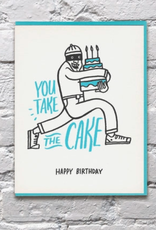 You Take the Cake Card