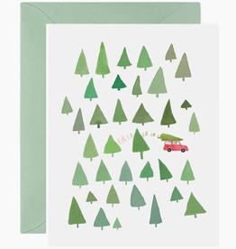 Fa La La Trees Card