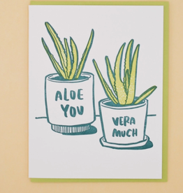 Aloe You Card