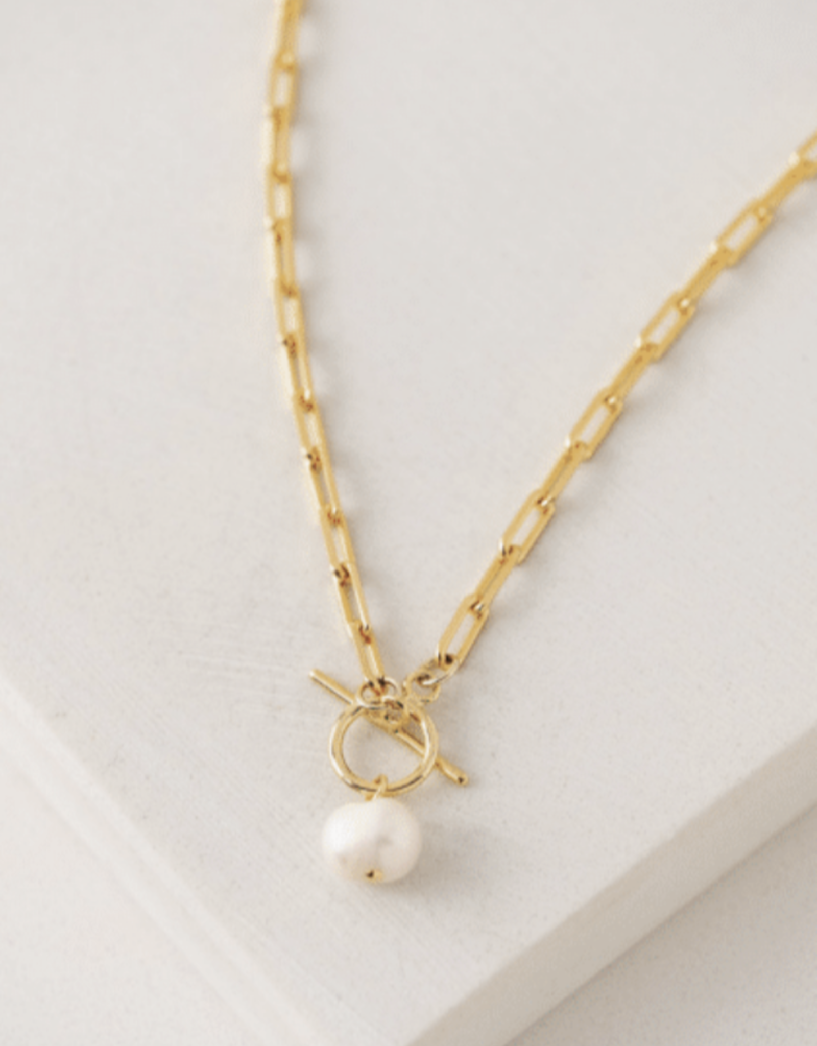 Thalassa Pearl Necklace - Gold
