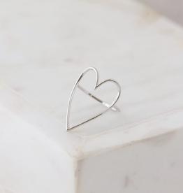 Lovestruck Ring Size 8 - Silver