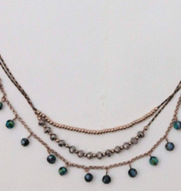 Horizon Necklace - Midnight