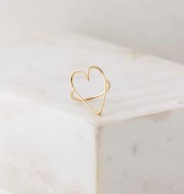 Lovestruck Ring Size 8 - Gold