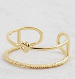 Knot Today Ring - Gold