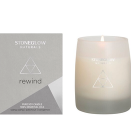 Rewind Candle Ylang Ylang Patchouli & Bergamot