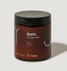 Burn No. 0 Massage Candle 4oz
