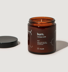 Burn No. 1 Massage Candle 4oz