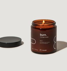 Burn No. 2 Massage Candle 4oz