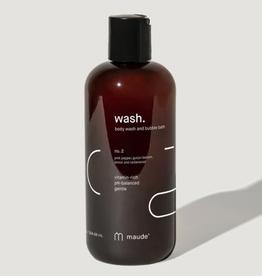 Wash No. 2 Body Wash and Bubble Bath 12 oz