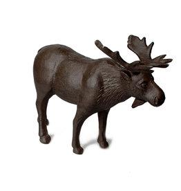 "Brown Standing Moose Figure L9"""