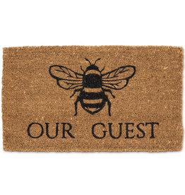 """Bee Our Guest Doormat L18"""" W30"""""""