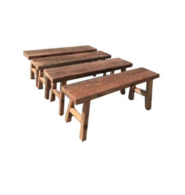 """Recycled Elmwood Bench L48"""" W11.9"""" H18.9"""""""