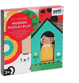 At Home Mini Wooden Puzzle
