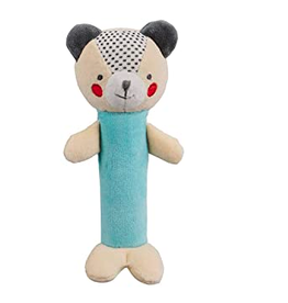 "Baby Bear Organic Squeak Toy H5.6"""