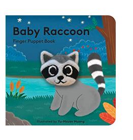 Finger Puppet Baby Raccoon Book
