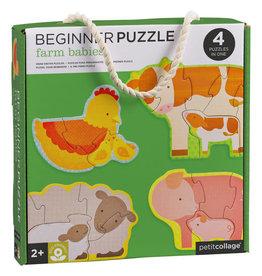 Farm Babies Beginner Puzzle 4 pc