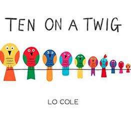 Ten on A Twig Board Book