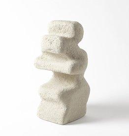"Grey Mguyon Sculpture H14"""