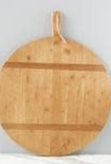 "XLarge Round Pine Charcuterie Board L31"" W25"""