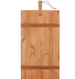"XLarge Rectangle Pine Charcuterie Board L33"" W16"""