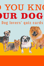 Do You Know Your Dogs? Quiz Cards
