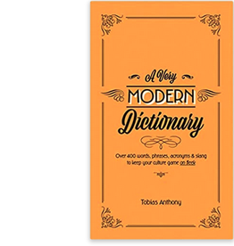 A Very Modern Dictionary Book