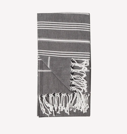 Black Sultan Turkish Towel