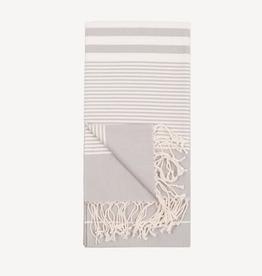 Silver Harem Turkish Towel