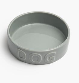 """Small Grey Classic Pet Bowl D5.25"""" H2"""""""