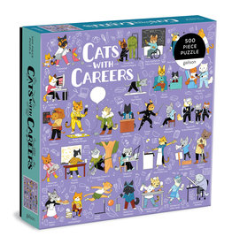 Cats with Careers Puzzle 500 piece