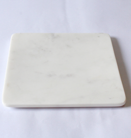 """Small Square Marble Platter L8"""""""